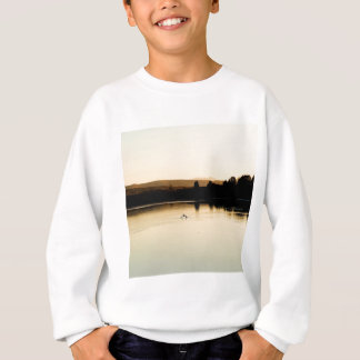 Water Yellow Swan Lake Sweatshirt
