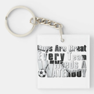 Waterboy Scoccer Keychain