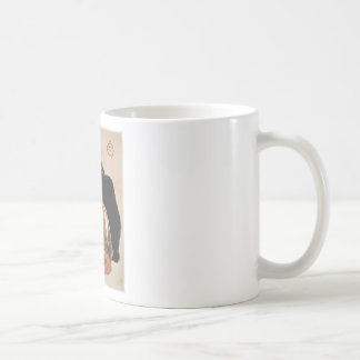 Watercolor - 2 Cats - Théophile Alexandre Steinlen Coffee Mug