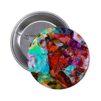Watercolor 6 Cm Round Badge