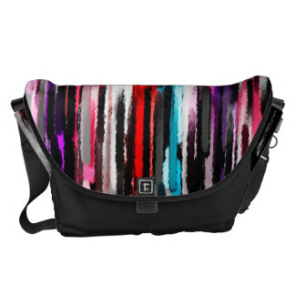 Watercolor Abstract Background 2 Courier Bag
