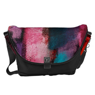 Watercolor Abstract Background 4 Messenger Bags