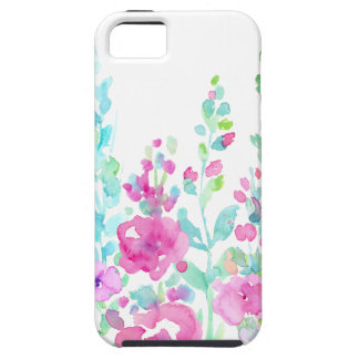 Watercolor abstract floral bed case for the iPhone 5