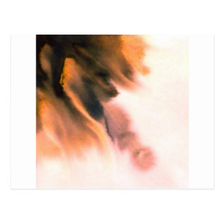 WATERCOLOR ABSTRACT PAINTING POSTCARD