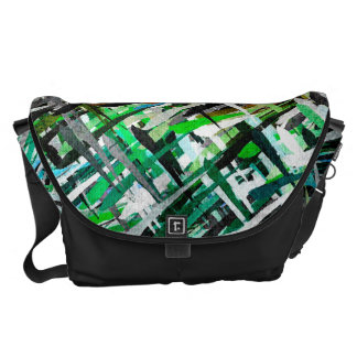 Watercolor Abstract Pattern 14 Courier Bags