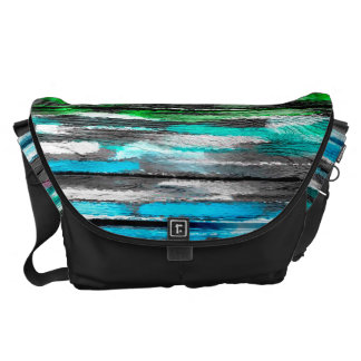 Watercolor Abstract Pattern 15 Messenger Bags