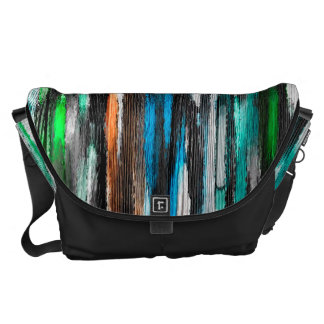 Watercolor Abstract Pattern 16 Courier Bag