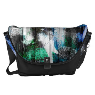 Watercolor Abstract Pattern 17 Messenger Bags