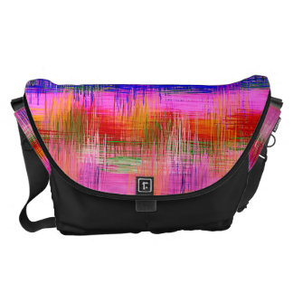 Watercolor Abstract Pattern 23 Messenger Bags