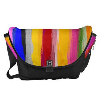 Watercolor Abstract Pattern 25 Courier Bags