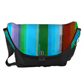 Watercolor Abstract Pattern 7 Courier Bags