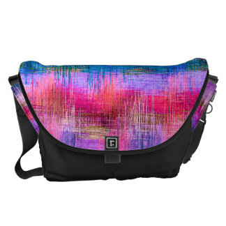Watercolor Abstract Pattern 9 Messenger Bags