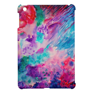 Watercolor Abstract Sea iPad Mini Covers