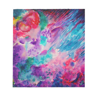 Watercolor Abstract Sea Notepad