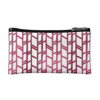 Watercolor Abstract Spring Pattern Makeup Bag
