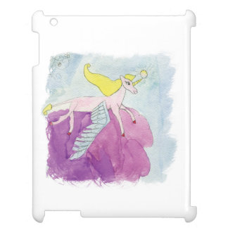 Watercolor Alicorn Pony Winged Horse Case For The iPad