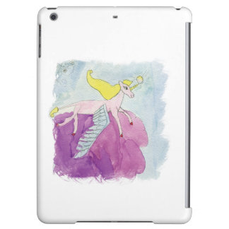 Watercolor Alicorn Pony Winged Horse iPad Air Case