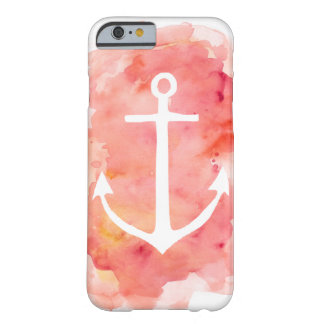 Watercolor Anchor Barely There iPhone 6 Case