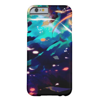 Watercolor Anime Fantasy Collage Custom iPhone Barely There iPhone 6 Case
