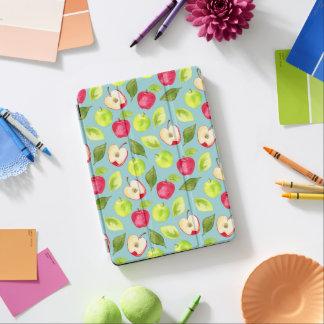 Watercolor Apples Pattern iPad Air Cover