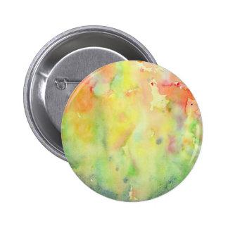 Watercolor autumn Woodland 6 Cm Round Badge