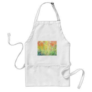 Watercolor autumn Woodland Standard Apron