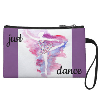 Watercolor Ballerina Clutch