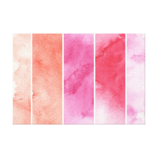 watercolor banners background for your design gallery wrap canvas