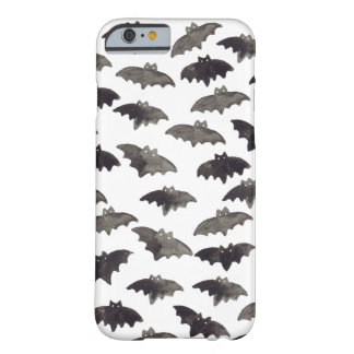 Watercolor Bats Barely There iPhone 6 Case