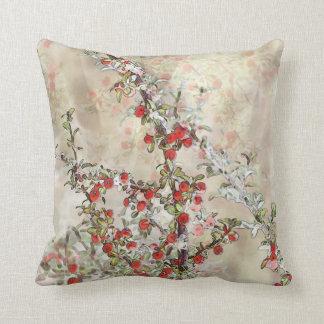 Watercolor Berries Pillow