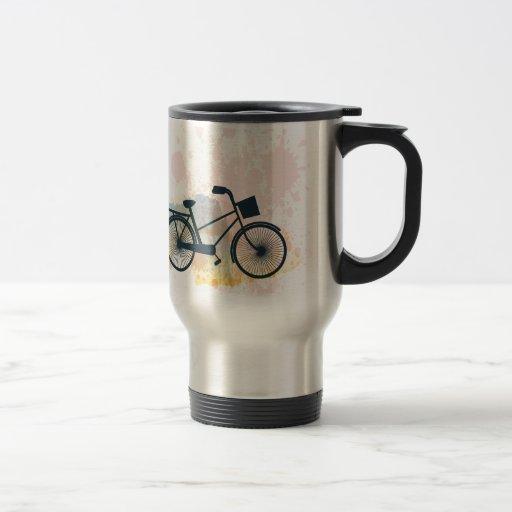 Watercolor Bike Mug