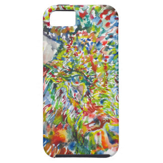 watercolor BISON .2 iPhone 5 Case