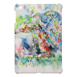 watercolor BISON .3 Case For The iPad Mini
