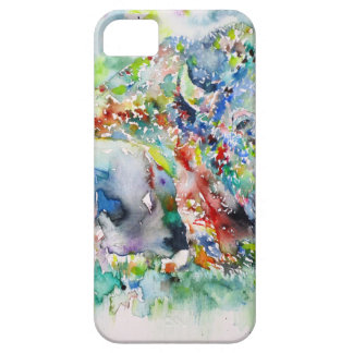 watercolor BISON .3 Case For The iPhone 5
