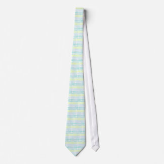 Watercolor Blue Green Azur Boy Tie