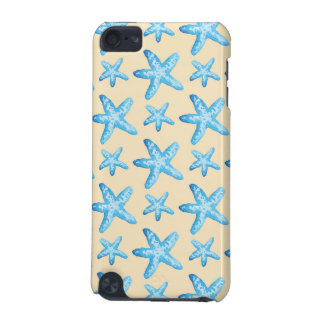 Watercolor Blue Starfish Pattern iPod Touch 5G Case
