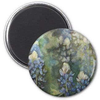 Watercolor Bluebonnets Magnet