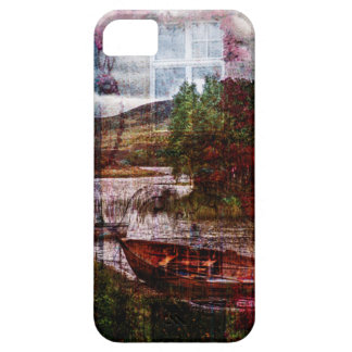 Watercolor Boat Phone Case iPhone 5 Cases