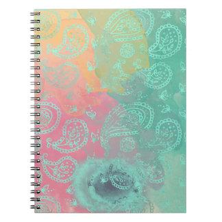 Watercolor Boho Notebook