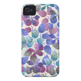 watercolor Botanical garden II iPhone 4 Case