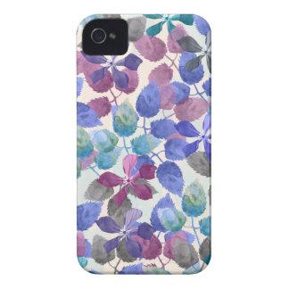 watercolor Botanical garden IV Case-Mate iPhone 4 Case