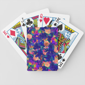 watercolor Botanical garden V Bicycle Playing Cards