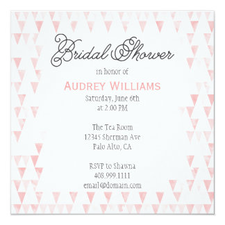 Watercolor Bridal Shower : Invitation