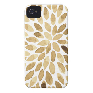 Watercolor brush strokes - neutral iPhone 4 Case-Mate cases