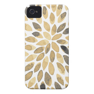 Watercolor brush strokes - neutral iPhone 4 cover