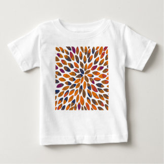 Watercolor brush strokes - rusty effect baby T-Shirt