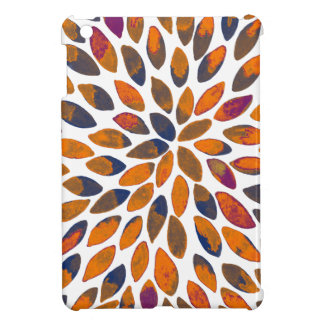 Watercolor brush strokes - rusty effect iPad mini cases