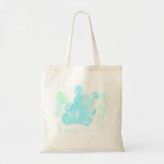 Watercolor Budget Tote Budget Tote Bag