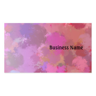 Watercolor Business Card Templates