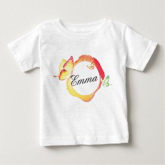 Watercolor Butterflies Baby T-Shirt